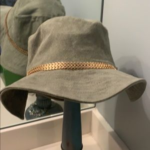 Army green secured hat